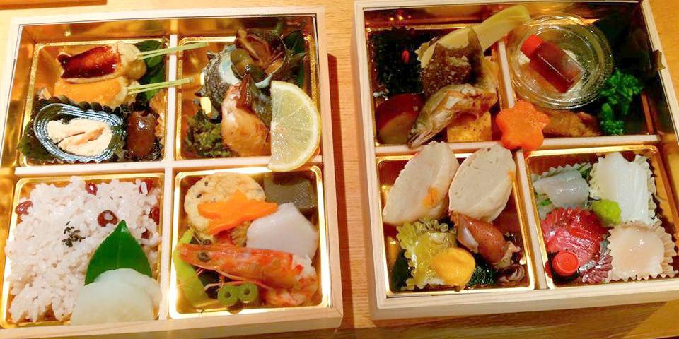 熊本城でお花見弁当